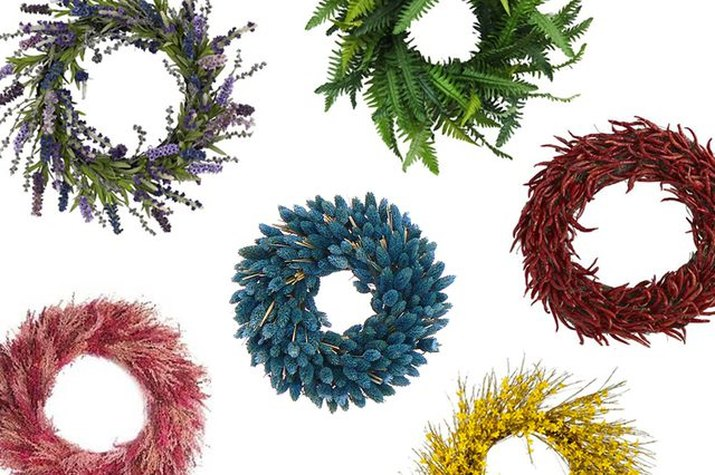 Colorful Wreaths
