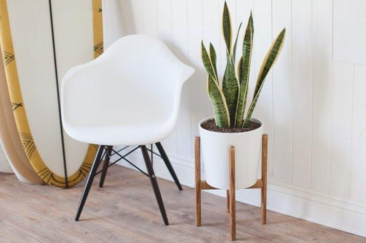 Mid-centruy modern plant stand