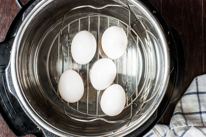 Instant Pot Hardboiled Eggs