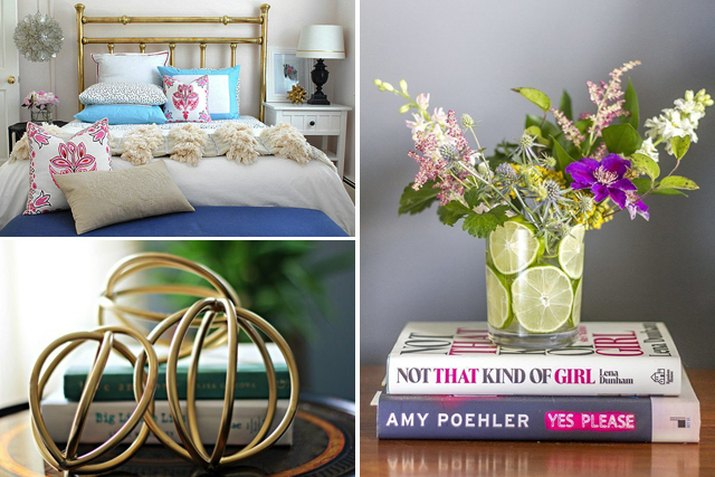 DIY Bedroom Collage