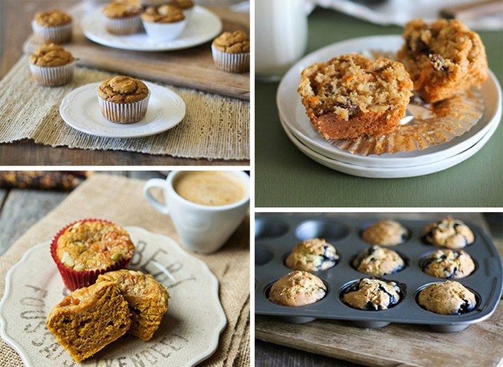 8 Sweet and Easy Muffin Recipes