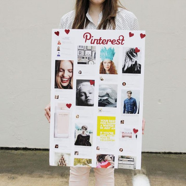 Pinterest board adult costume