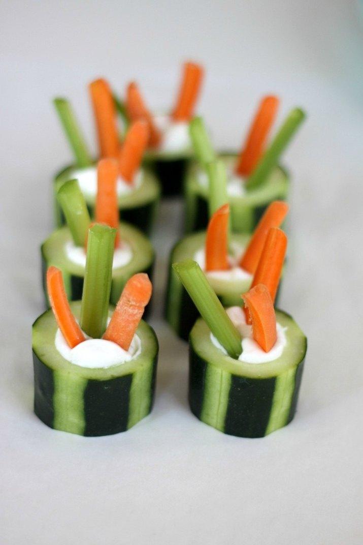 Cucumber Veggie Cups
