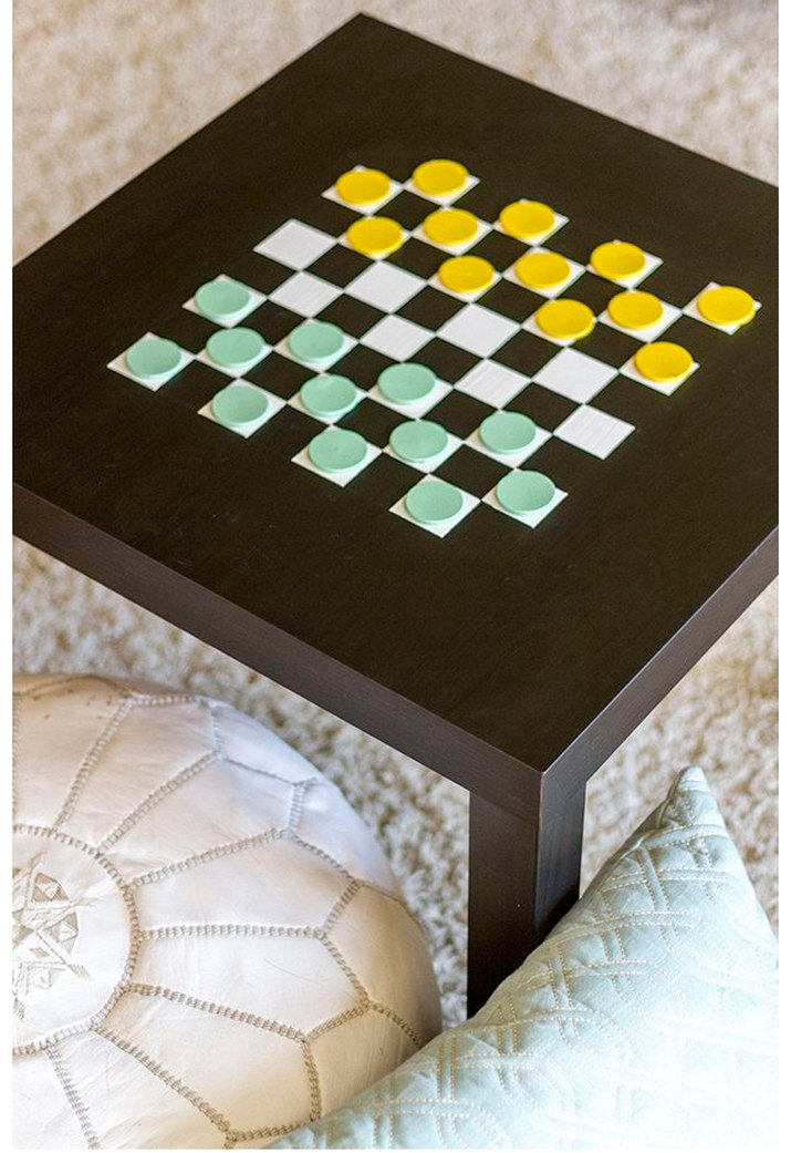Checkerboard IKEA table