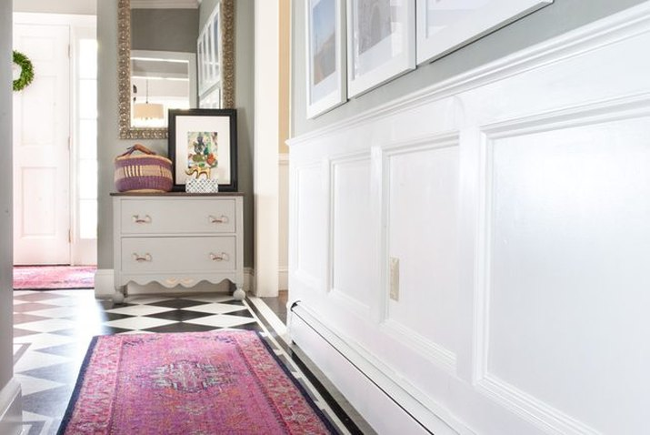 How to Create and Install Custom Wainscoting