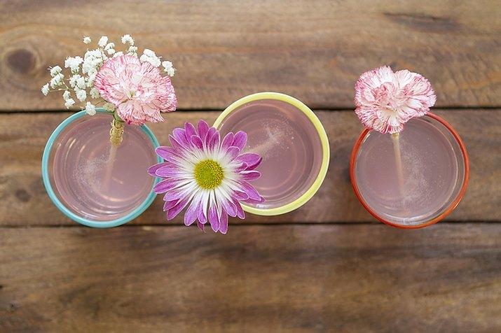 DIY Floral Stirrers