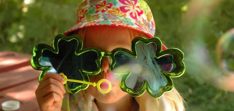 Clover Bubbles