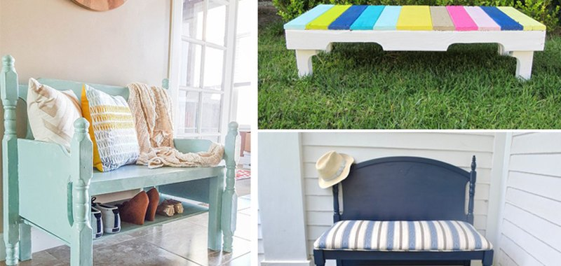 DIY Wooden Benches