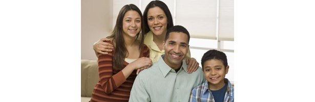 A respectful family teaches children important people skills.
